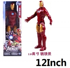 Iron Man Cartoon Toys Wholesale Anime Figure Collectable 12Inch