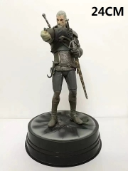 The Witcher Geralt Cartoon Toys Wholesale Anime Figure Collectable 24CM