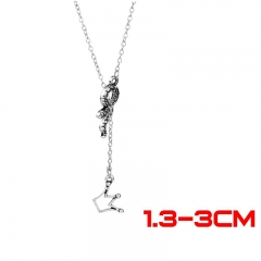 Riverdale Movie Fashion Jewelry Wholesale Long Anime Alloy Necklace 30g