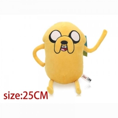 Adventure Time With Finn And Jake Cartoon Stuffed Doll Anime Plush Toys 25cm