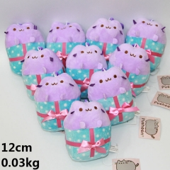 Pusheen The Cat Anime Lovely Toys Stuffed Soft Plush Pendant 10pcs/set