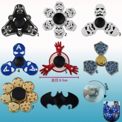 Hot Sale Reduced Pressure Funny Toys Fidegt Spinner 8 Designs Can Choose