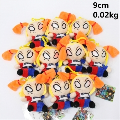 Suicide Squad Anime Movie Character Cute Plush Pendant 10pcs/set