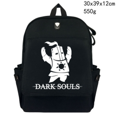Game Design Dark Souls Canvas Backpack Students Bag