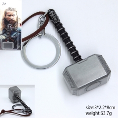 The Thor Cosplay Cool Hammer Pendant Anime Keychain
