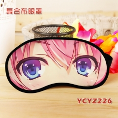 Classroom of the Elite Cosplay Color Printing Cartoon Composite Cloth Anime Eyepatch