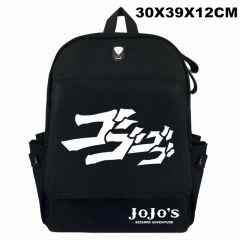 JoJo's Bizarre Adventure Cosplay Canvas Anime Backpack Bag