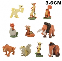 Ice Age Mini Cute Cartoon Collectable Toy PVC Anime Figures (Set)