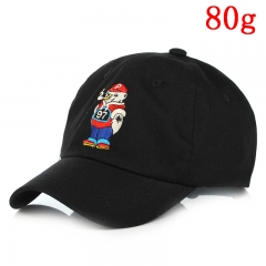 Rick and Morty Classic Cartoon Hat Fashion Hip Hop Black Anime Cap 80g