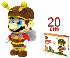 Super Mario Bros Game Miniature Anime Building Blocks Funny Board Game