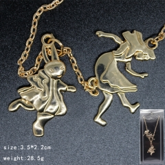 Alice in Wonderland Cosplay Cartoon Pendant Anime Necklace