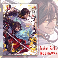Touken Ranbu Online New Arrival 3D Print Decoration Cosplay Game Anime Wallscrolls 60*90CM