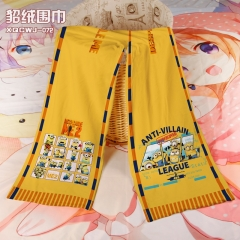 Despicable Me Cosplay Colorful Mink Velvet Material Anime Scarf