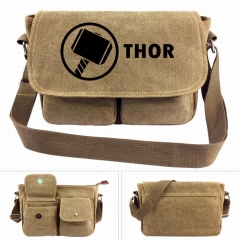 Marvel The thor Movie Crossbody Bags High Quality Anime Canvas Single-shoulder Bag