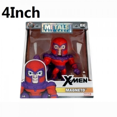 X-Men Comic Magnetto Cartoon Toys Wholesale Anime Figure 4Inch