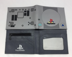 Play Station Japanese Game Good Quality Anime Wallet