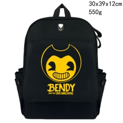 Bendy And The Ink Machine Canvas Backpack Students Bag
