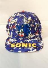 Sonic Cosplay Cartoon Unisex Cool Baseball Cap Anime Hat
