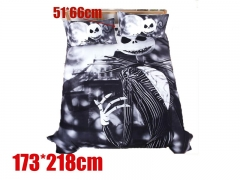 Nightmare Before Christmas Movie Jack Skellington Bedclothes Anime Quilt Cover