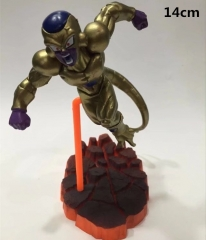 Japanese Cartoon Dragon Ball Z Anime Golden Frieza Cute PVC Figure