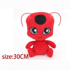 Miraculous Ladybug Red Cartoon Stuffed Doll Anime Plush Toys 30cm