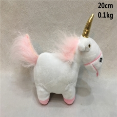 Despicable Me Anime Cartoon Plush Unicorn Cute Toy 20cm
