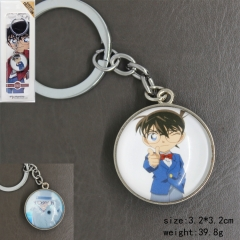 Detective Conan Cartoon Cosplay Two Sides Pendant Anime Keychain
