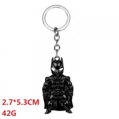 Marvel Comics Batman Pendant Keyring Wholesale Creativity Anime Keychain 42g