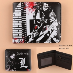 Japanese Cartoon Death Note Anime PU Leather Wallet