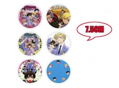 Japanese Cartoon Ouran High School Anime Fancy Pins Set