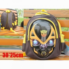 Transformers Movie Cartoon Bag Bumblebee EVA Waterproof Cloth Anime Backpack