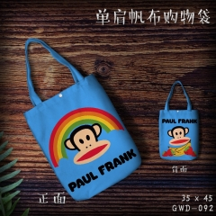 Paul Homme Cosplay Cute For Woman Cartoon Anime Shopping Bag