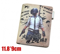 Player Unknown's Battle Grounds Cosplay Game Purse Anime Wallet