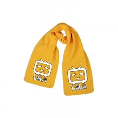 Bilibili Print Little TV Yellow Long Warm Anime Good Quality Scarf