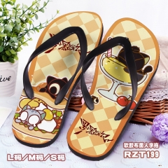 The Legend of Luoxiaohei Cosplay Soft Rubber Slippers Anime Flip-flops
