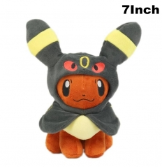 Pokemon Cosplay Umbreon For Kids Doll Anime Plush Toy