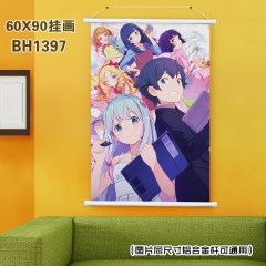 Eromanga Sensei Cosplay Cartoon Anime Plastic Bar Wallscroll