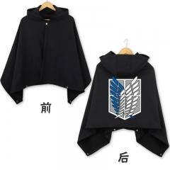 Attack on Titan Black Marks Cosplay Cloak Fashion Anime Costume