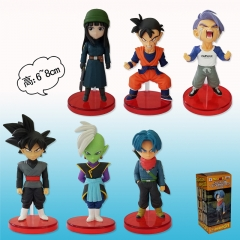 Dragon Ball Z Fifth Generation For Kids Toy Anime Figure 6pcs/set