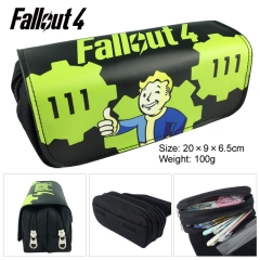 Falout 4 Hot Game Cartoon Pen Case Wholesale Anime PU Pencil Bag 100g
