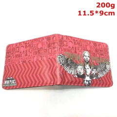 Twin Peaks Cosplay Movie PU Purse Anime Wallet