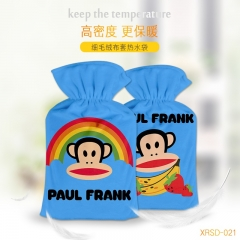 Paul Homme Cartoon Hands Blue Anime Hot-water Bag For Warm