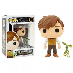 Fantastic Beasts and Where to Find Them Newt Scamander Cartoon Anime Model Toys Figure 10#