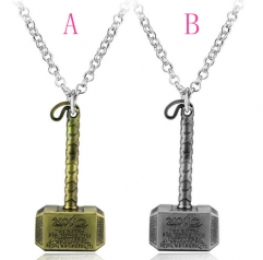 The Thor Alloy Anime Necklace (10pcs/set)