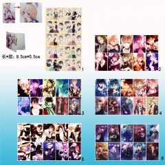DIABOLIK LOVERS Anime Beautiful Fancy Stickers 10pcs/set