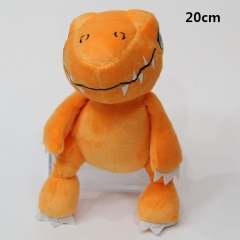Cartoon Digital Monster Agumon Anime Cute Plush Toys 5pcs/set