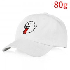 Rick and Morty Classic Cartoon Fashion Design Cool White Anime Cap 80g