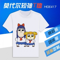 Pop Team Epic Cosplay Cartoon Modal Anime T shirts