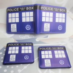 Doctor Who Cosplay TV Series Cartoon PU Purse Anime Wallet
