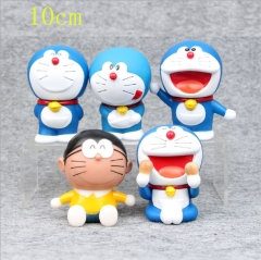 Doraemon Anime Spoof PVC Figures (set)10cm